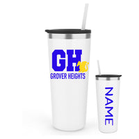 Grover Heights Straw Tumbler