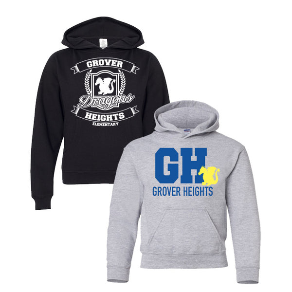 Grover Heights: Pullover Sweatshirt