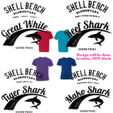 Shell Beach: Youth House Tee