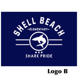 Shell Beach: Girl+Ladies Tank Tops