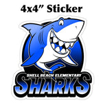 Shell Beach: Sticker