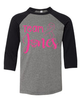 Bruce: Team Jones Baseball Tee