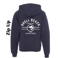 Shell Beach: ADULT and YOUTH Zip Up 2020