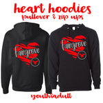 Fairgrove: Heart Hoodies
