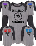 Shell Beach: Adult House Tee