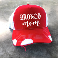 Branch: Red Distressed Hat
