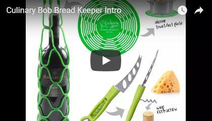 GIFT PACK | Bread Hero, 3-in-1 Cheese Knife, Beverage Wine Tote Combo