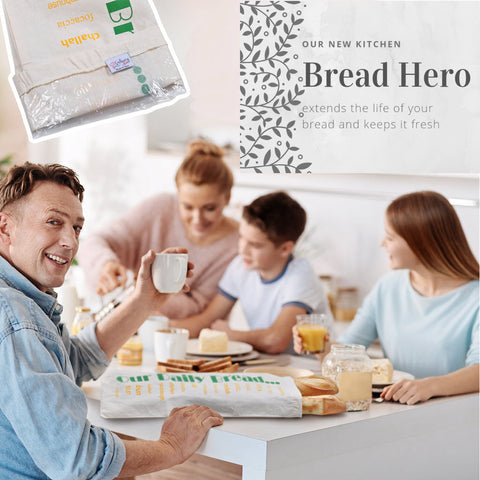 Bread Hero Preserver by Culinary Bob (Retail Packaging)