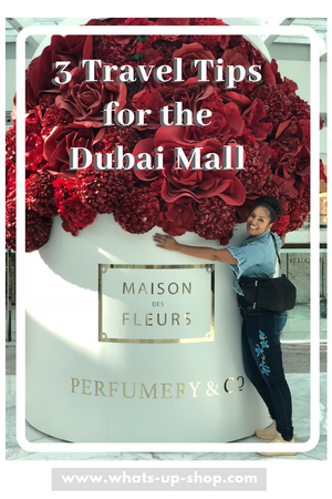 TOP 3 Travel Tips for The Dubai Mall
