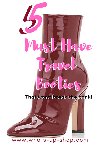 5 Must have winter travel booties