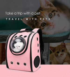Pet Backpack - Black
