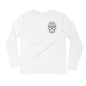 Sugar Skull Long Sleeve Fitted