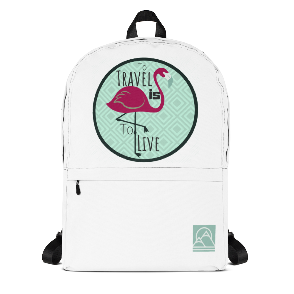 To Travel is To Live Backpack