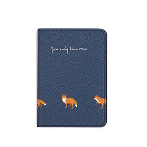 Fox Passport Cover