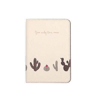 Cactus Passport Cover