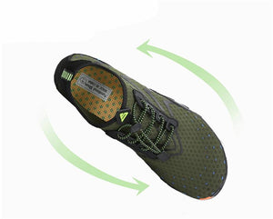 Breathable Adventure Shoes - Green