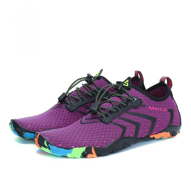 Breathable Adventure Shoes - Purple