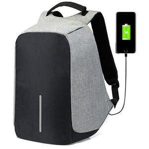 Anti-Theft & USB Charging Backpack