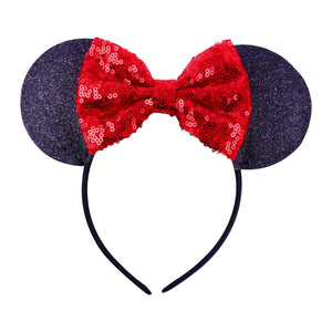 Girl's Sequin Minnie Mouse Headband