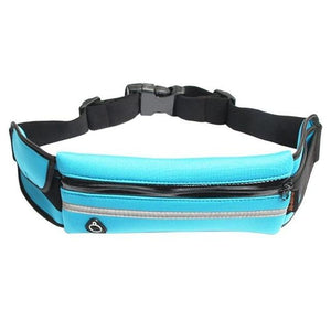 Running Belt Waist Fanny Pack – Adjustable Running belt fits most types of Phones