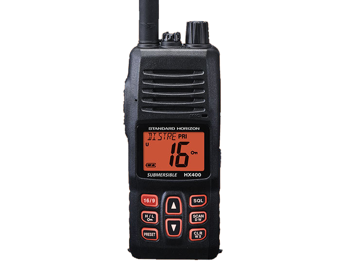 Durable Intrinsically Safe Waterproof VHF