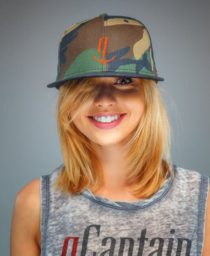 Camo gCaptain Ball Cap
