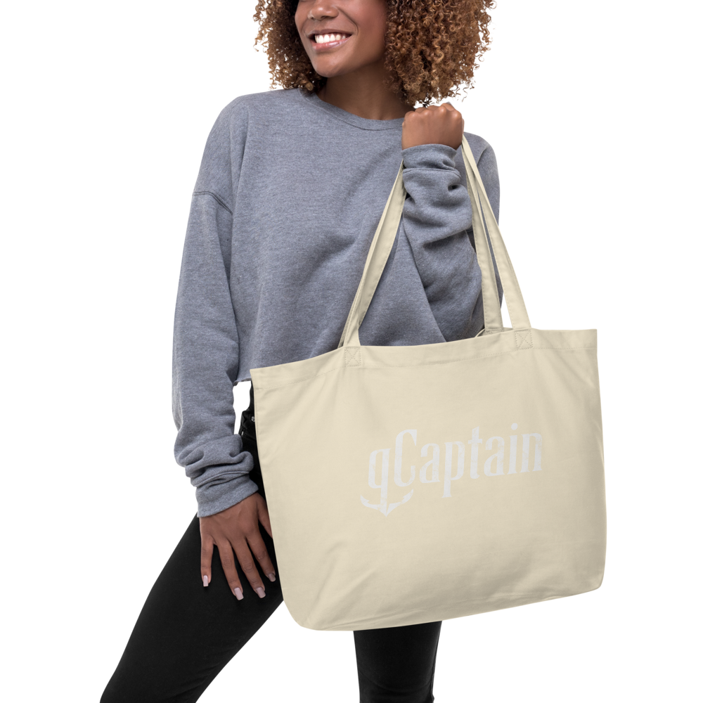 gCaptain Large Tote Bag