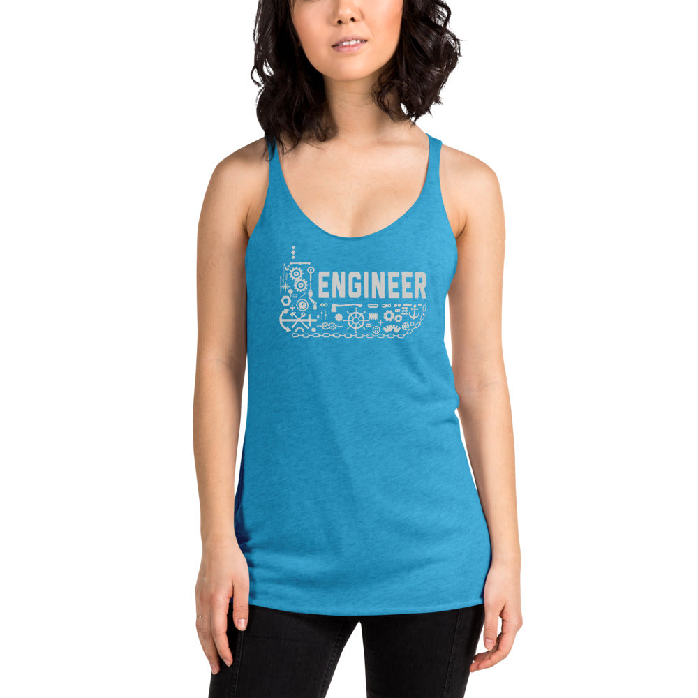 Women's Ship Engineer Racerback Tank