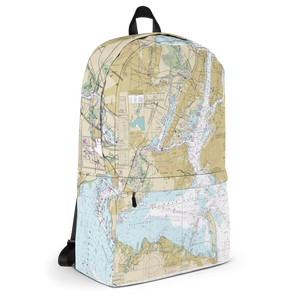 Nautical Chart Backpack