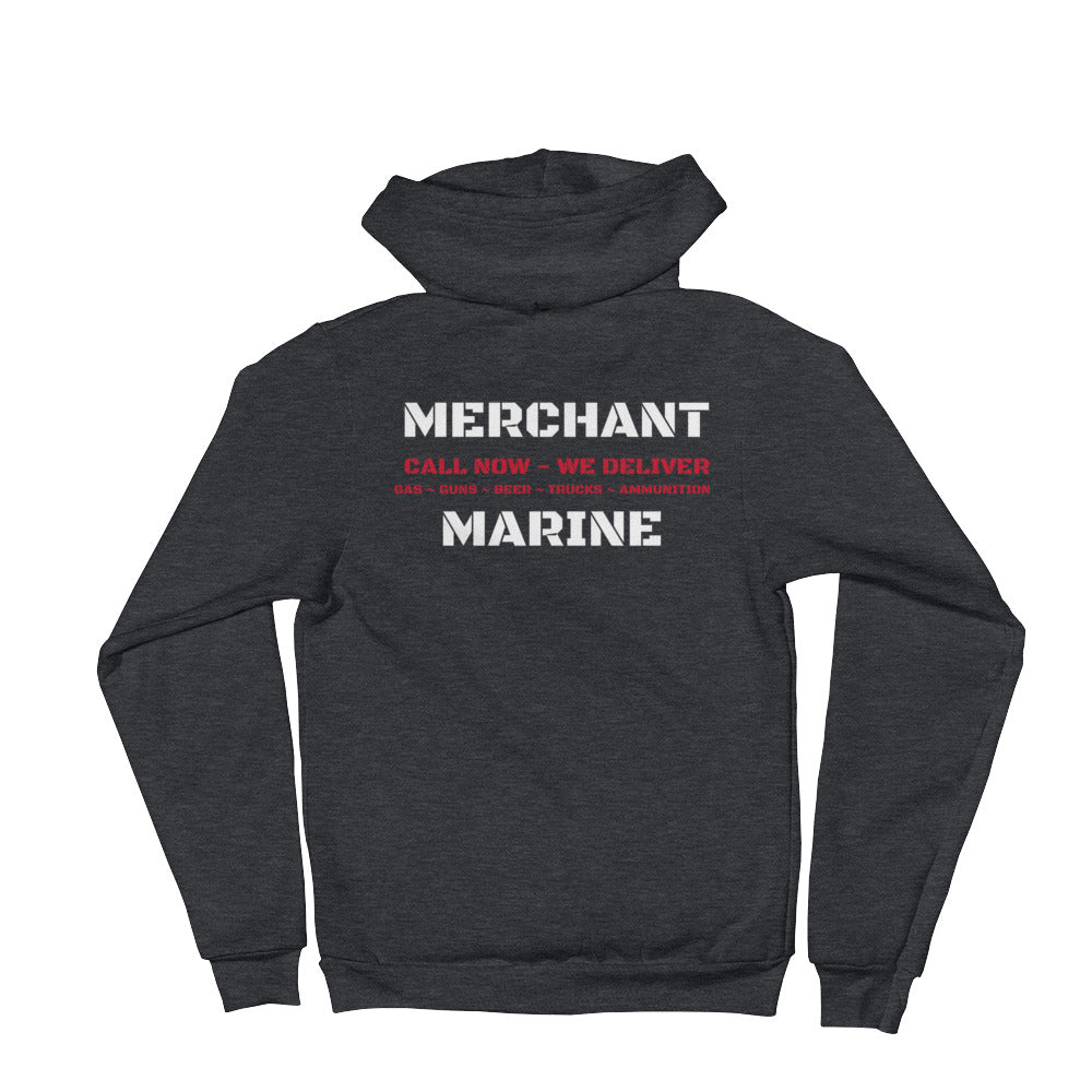 WE DELIVER Merchant Marine Hoodie