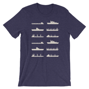 Simple Ship Silhouette Shirt