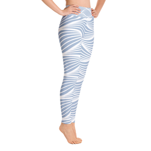 Lots Of Waves Yoga Leggings