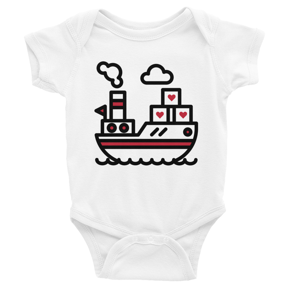 Cargo Of Hearts Infant Onesie