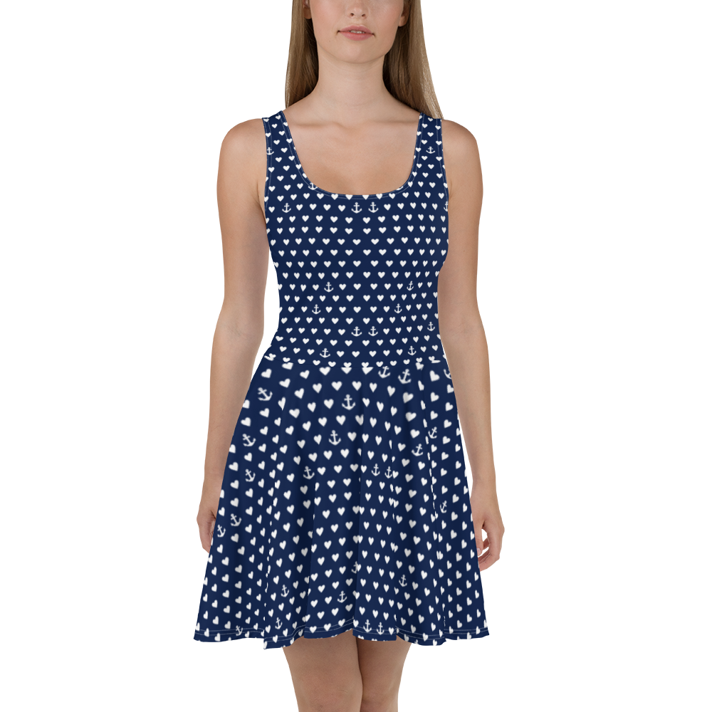 Anchors And Hearts Dress