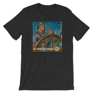 WWII Sailor At Helm Shirt