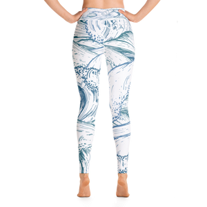 Waves Yoga Leggings