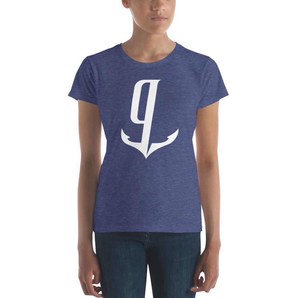 gCaptain White Logo Women's Shirt