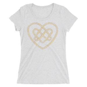 Ladies' Lover Knot Scoopneck