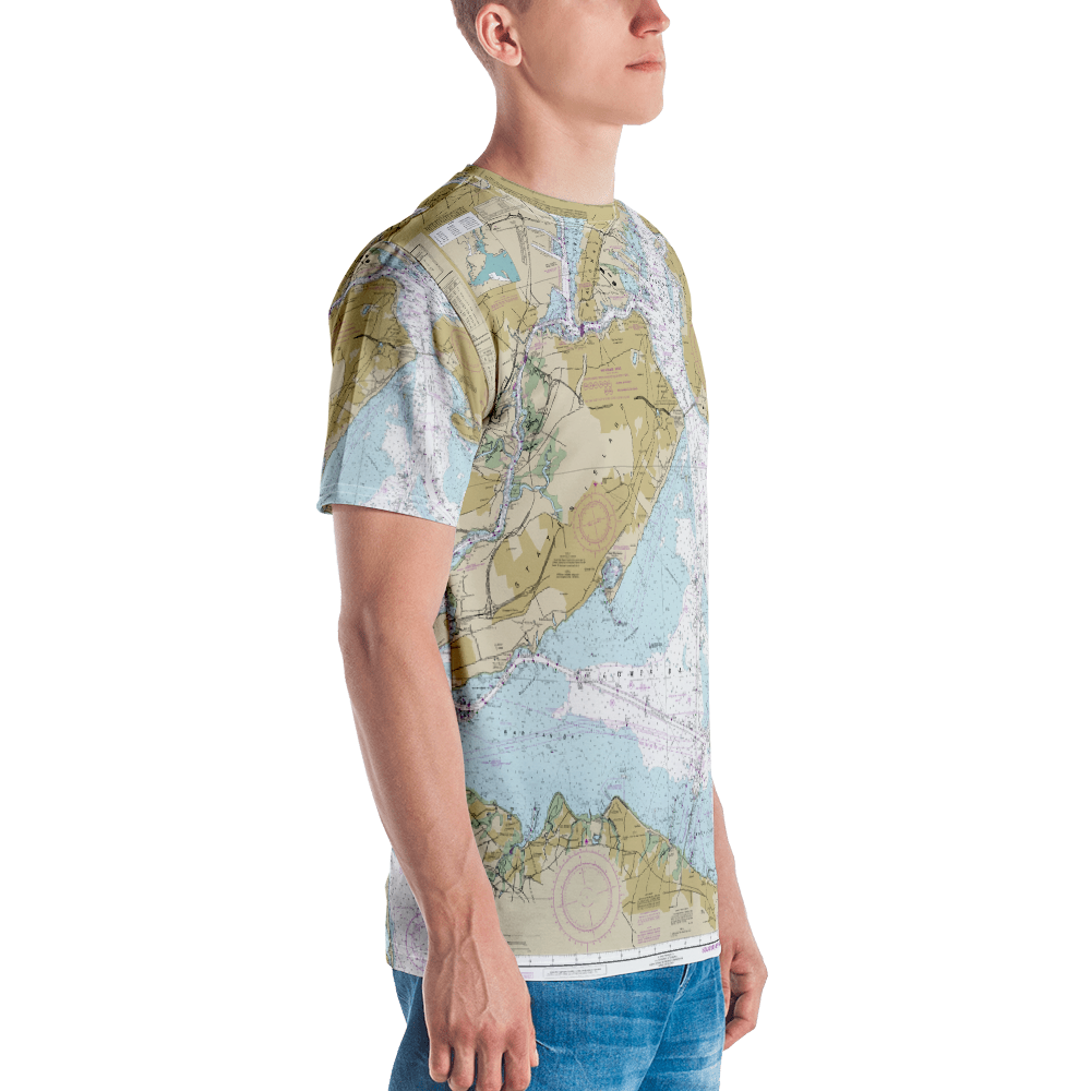 Authentic Nautical Chart Shirt