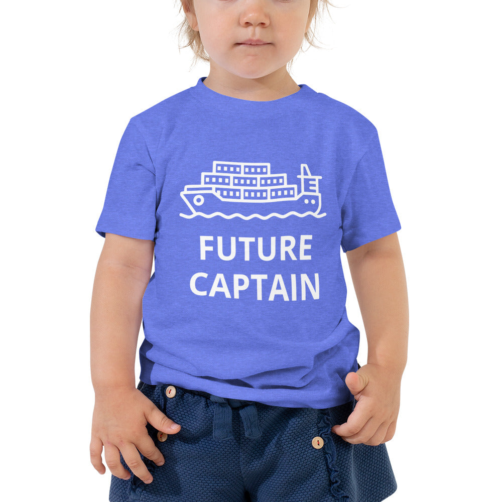 Future Captain Toddler Short Sleeve Tee