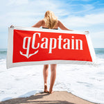 gCaptain Box Logo Towel