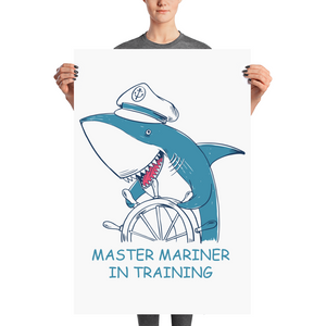 Kids Master In Training Poster