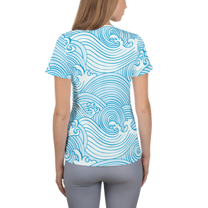 The Wave Athletic Shirt