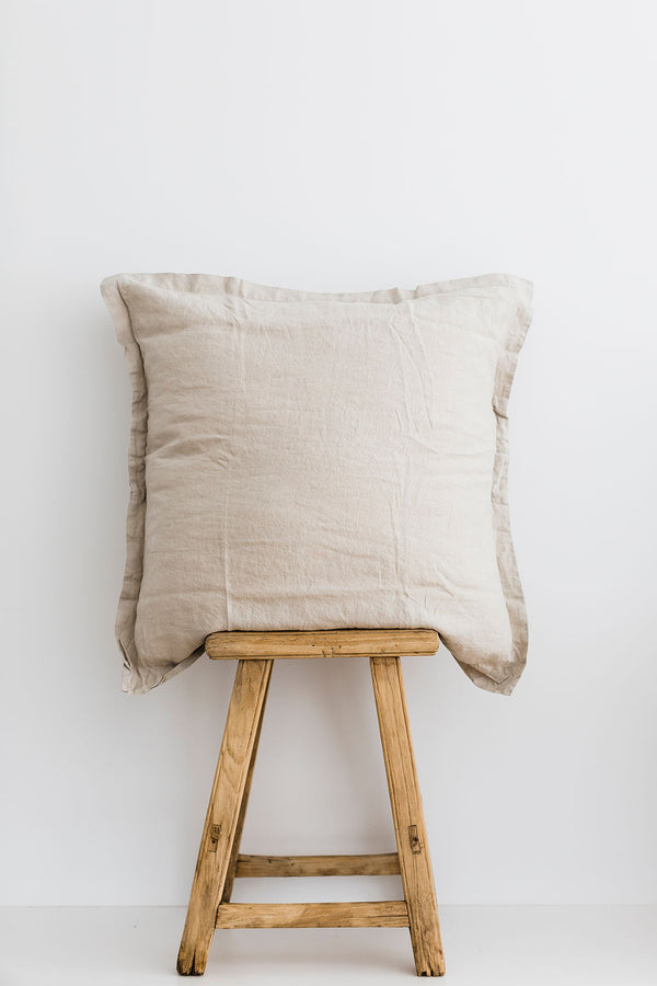 Dove Grey Euro Cushion
