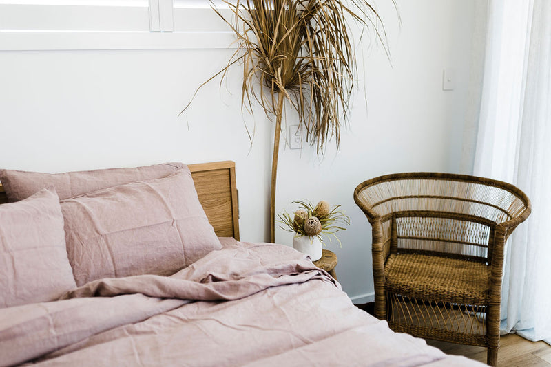 Dusty Pink Duvet Set