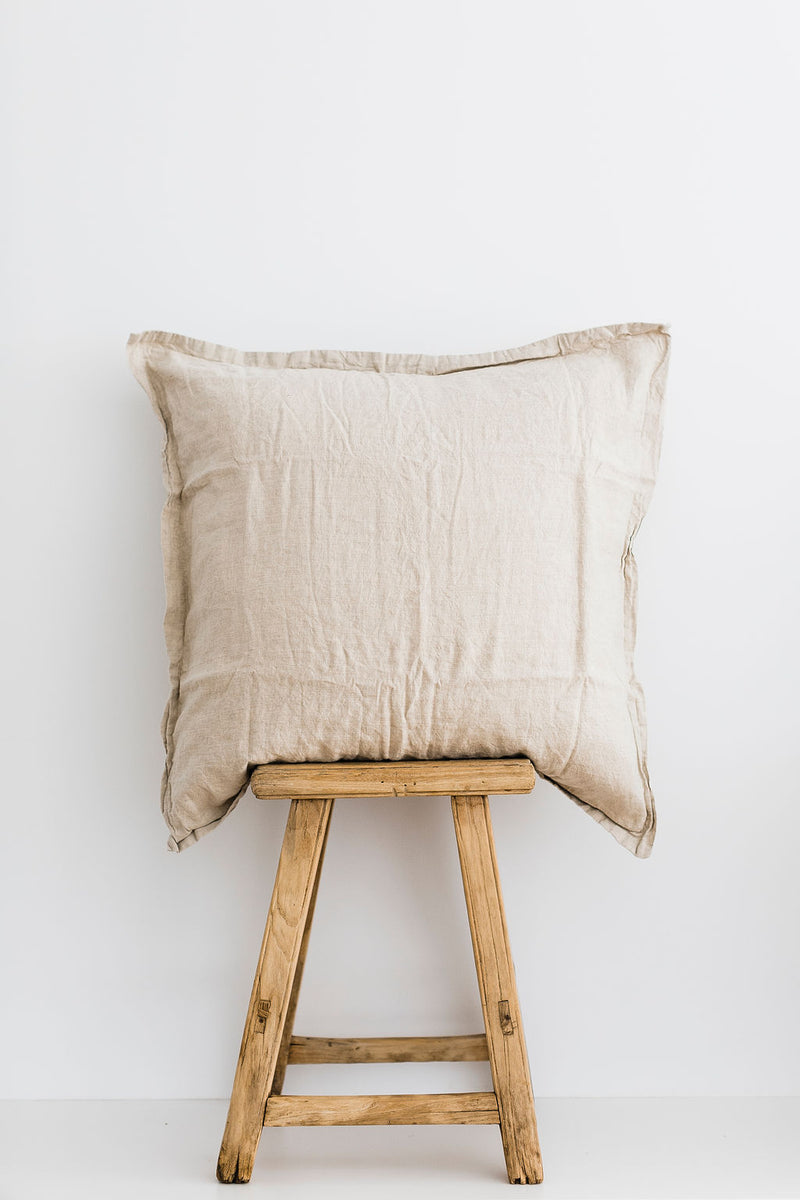 Natural European Pillowcase (Set of 2)