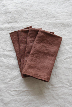 Linen Social - Native Berry Napkin