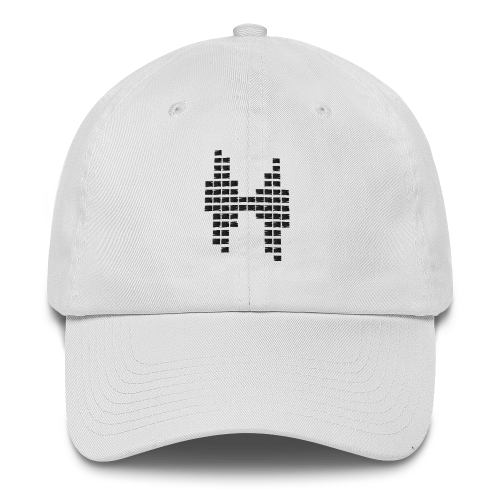 Heiserman Logo Hat - White