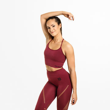 Astoria Seamless Bra / Sangria Red