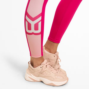 Chrystie High Tights / Hot Pink - LoadedGym